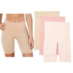 2 Breezies Long Leg Control Panties Lg P3629